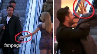 UPS: Šta se dogodi kada vas zgodna plavuša slučajno dodirne (VIDEO)