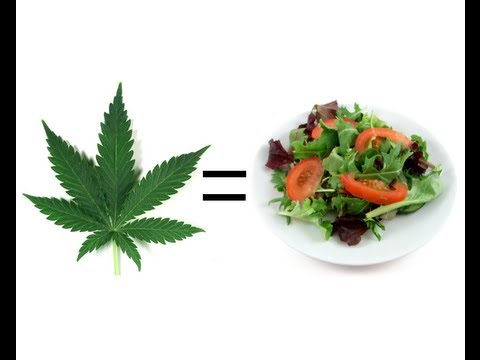 Evidence that Cannabis IS Food!