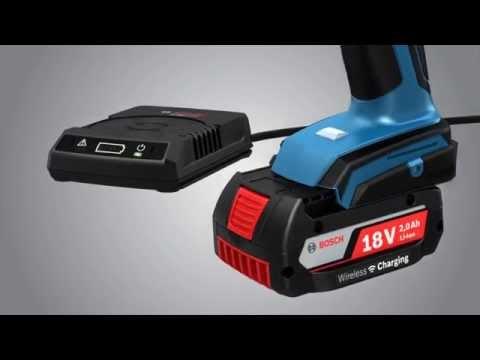 Bosch GSB18VLI Wireless professional 18 volt Cordless Combi Drill 2 18 volt 2 amp batteries