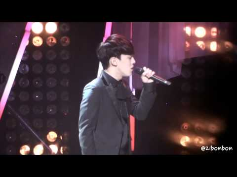140212 Joint Recital S.M The Ballad - 呼吸 (breath) (Chen focus)