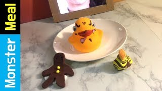 How to Eat A Wild Duck with Clay Chocolate  | Monster Meal ASMR Sounds | Kluna Tik Style