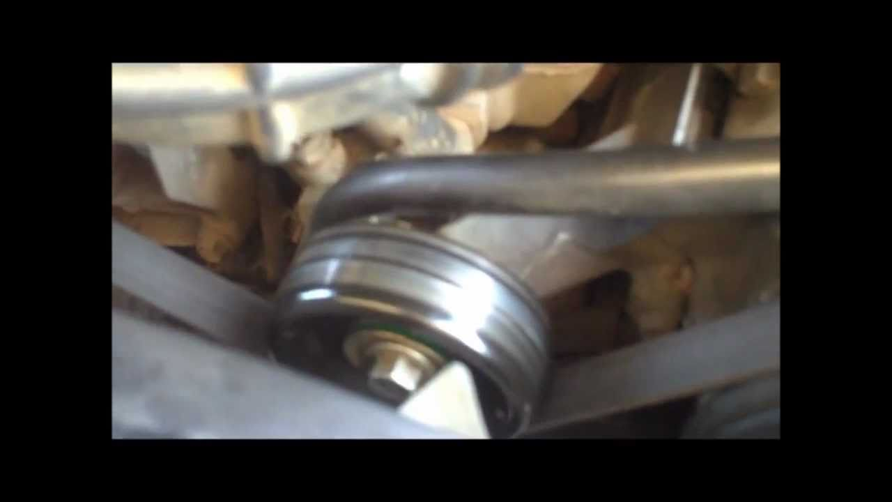 Maxresdefault on Idler Pulley Bearing Replacement How To Youtube