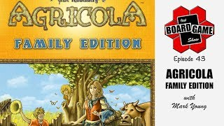 That Board Game Show, Episode 43 | Agricola: Family Edition