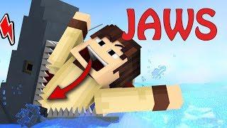 Đại Chiến HÀM CÁ MẬP Trong Minecraft