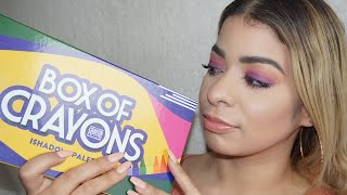 Box of Crayons Palette - WORTH THE IG HYPE?!?