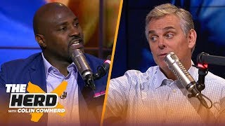 Marcellus Wiley predicts Brady, Harbaugh, Rivera & Cam's future, talks Cowboys | NFL | THE HERD