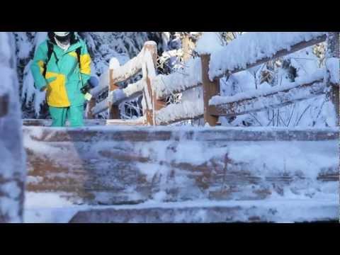 Alyeska Resort Sponsored Athletes Early Season Skiing & Riding