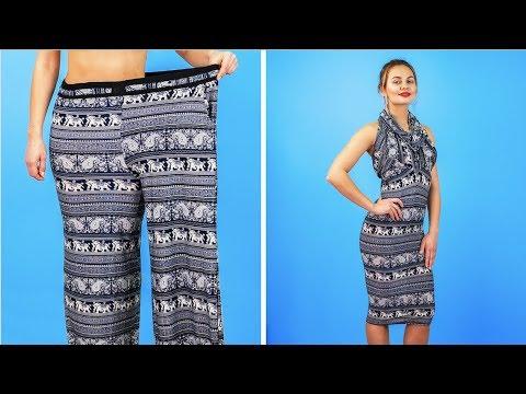 8 BRILLIANT CLOTHES HACKS FOR GIRLS    Cool DIY Ideas