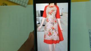 352-thiết kế áo dài cách tân cho mẹ|dạy cắt may online miễn phí| sewing online class free | tysushop