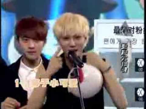 130927 China big love concert - Exo helium game