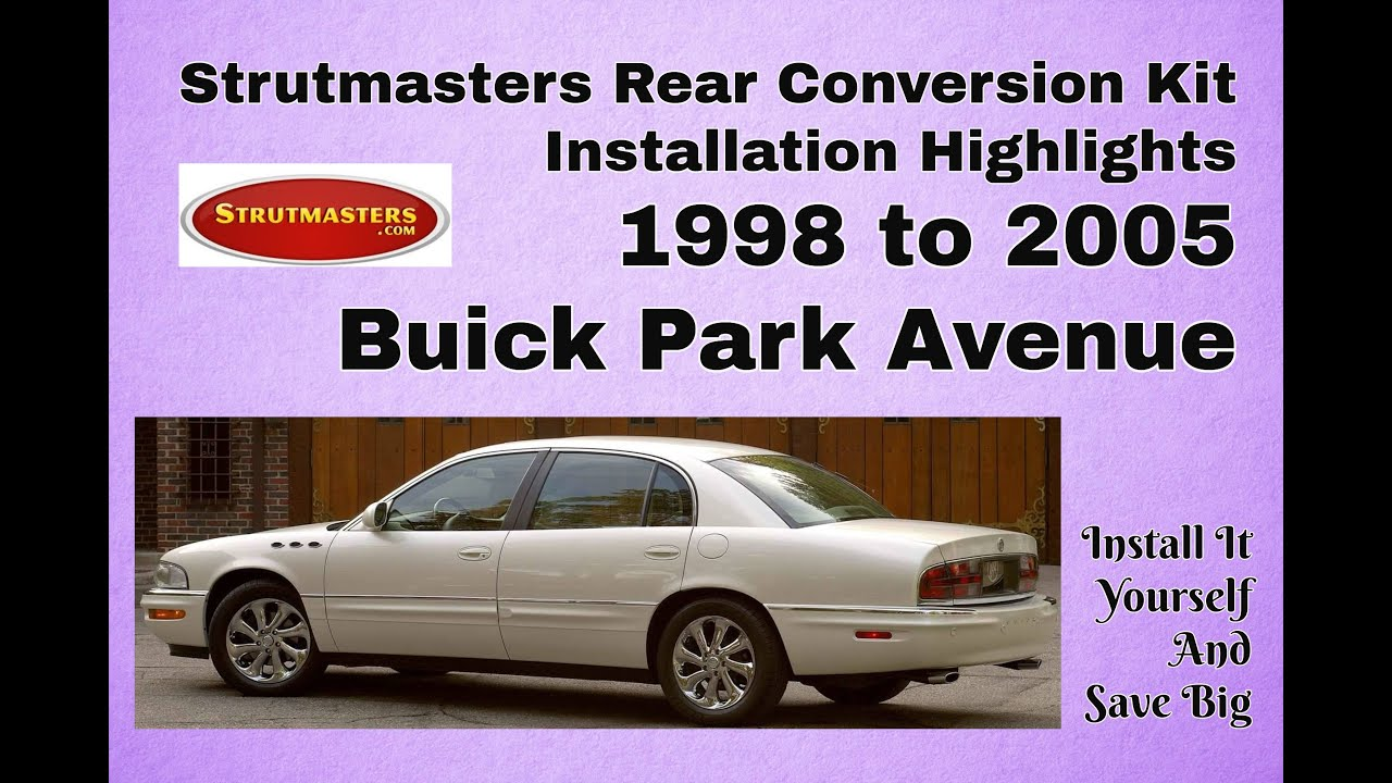 Air Bag Suspension Kit >> 2004 Buick Park Avenue With A Strutmasters Air Suspension ...