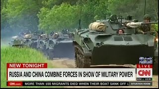 ALARMING China And Russia Combine Forces For Possible Attack