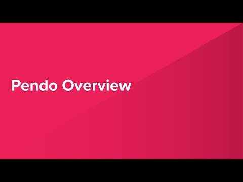 Pendo Overview