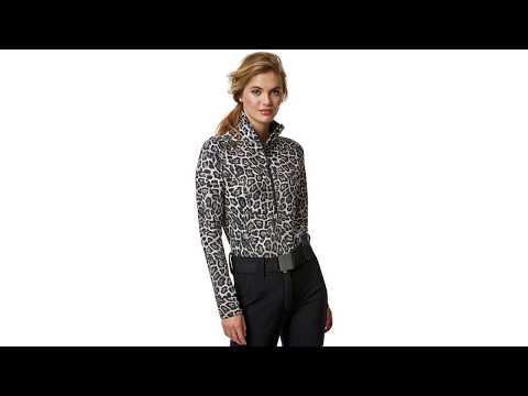 GOLDBERGH Lilja Baselayer in Leopard