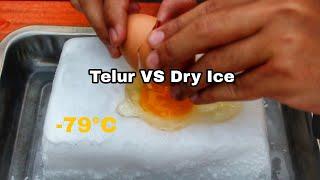 Menakjubkan Eksperimen Telur VS Dry Ice lalu di goreng, seperti apakah hasilnya?