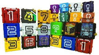 Power Rangers Animal Force Toy | Power ranger Zyuohger cube toys