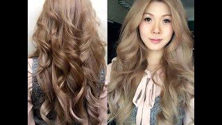 Cách làm tóc xoăn uốn đẹp tự nhiên.