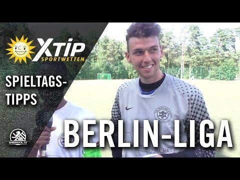 XTiP Spieltagstipp mit Rodney Wilson und Malte Hartmann (TUS Makkabi) - 1. Spieltag, Berlin-Liga | SPREEKICK.TV