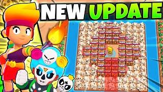 EXCLUSIVE Map Maker Gameplay + New Legendary Brawler Amber! 14 Skins! Brawl Stars October Update