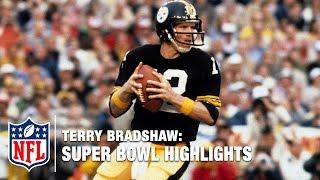 Terry Bradshaw Super Bowl Highlights | NFL