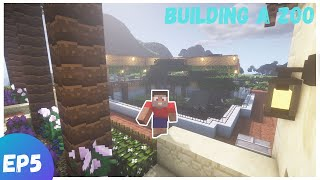Building A Zoo In Minecraft EP5 - A New BIG Exhibit!