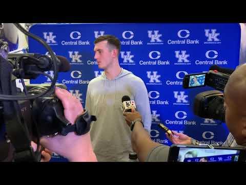 Kentucky forward Ben Jordan previews Mount St. Mary's