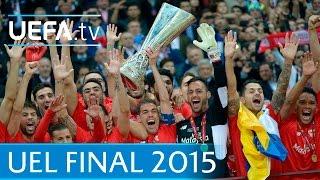 Sevilla v Dnipro: 2015 UEFA Europa League final highlights