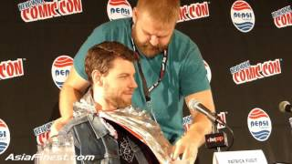 Robert Kirkman hilarious talks about Partrick Fugit name OutCast TV Panel New York Comic Con 2015