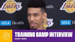 Danny Green shares his thoughts on how the team will develop through the season | Lakers Practice