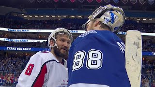 Lightning & Capitals shake hands after seven exciting games