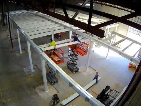 Mezzanine Install Time Lapse (Camera 2)