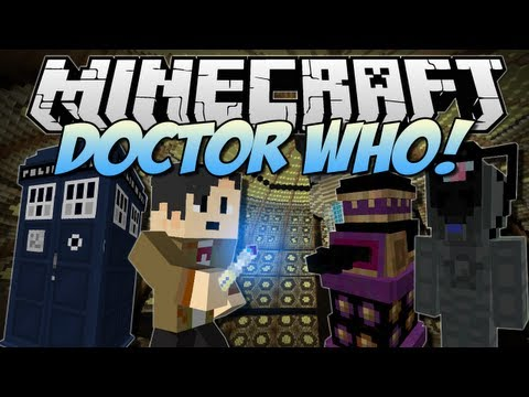 Minecraft | DOCTOR WHO! (Tardis, Daleks, Cybermen & More!) | Mod Showcase [1.6.2] - TheDiamondMinecart  - jz46GNdfAT0 -