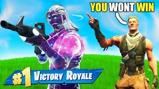 this kid bet me 10,000 VBUX I Couldnt Win In Fortnite!