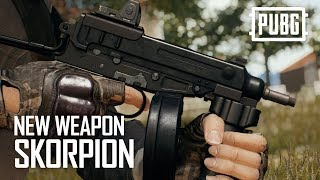 PUBG - New Weapon: Skorpion