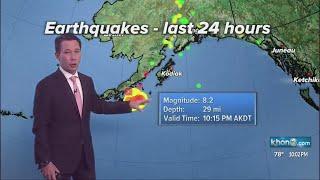 Officials cancel Tsunami Watch for Hawaii after 8.2 earthquake off Alaska