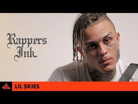 Lil Skies Explains His Tattoos   Rapper's Ink.
