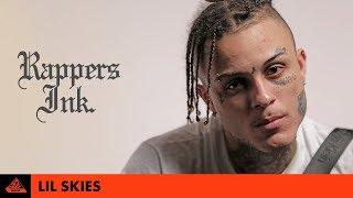 Lil Skies Explains His Tattoos | Rapper's Ink.