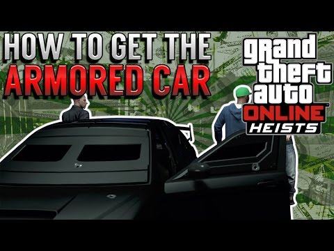GTA 5 Online Heist    How To Steal The Armored Car (Kuruma) - Bank Heist