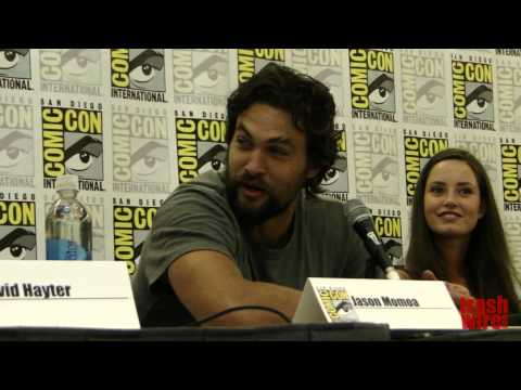Wolves panel with Jason Momoa and David Hayter at Comic Con ...