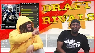 The BEST Blindfolded Draft Ever?! He's Giving Him Every Card He Wants! (Draft Rivals Pt.1)