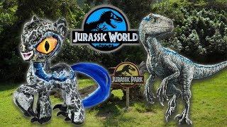 Custom BLUE VELOCIRAPTOR PONY Jurassic World Tutorial DIY