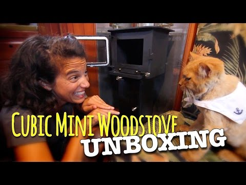 Cubic Mini Wood Stove Unboxing
