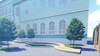 Таким ми хочемо бачити наш внутрішній гімназійний дворик!