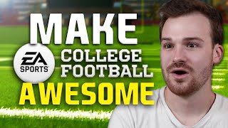 How to make NCAA Football games more AWESOME