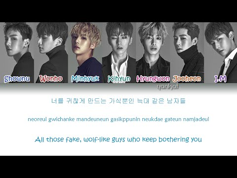 MONSTA X (몬스타엑스) - Hero  (Color Coded Han|Rom|Eng Lyrics) | by YankaT