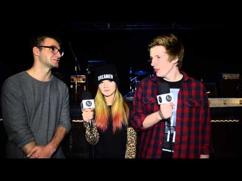 Interview: Against The Current (USA) takes an Aussie Quiz and Vegemite Challenge!