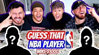 GUESS THAT NBA PLAYER - Winner Gets $1,000 Dollars