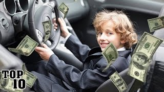 Top 10 Richest Kids