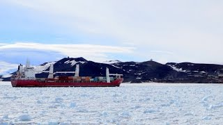 Coast Guard races to free dozens from stranded boat in Antarctic frozen waters