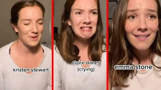 Tiktoker Getting Viral For Her Accurate Impressions Of Emma Stone And Other Famous Celebrities